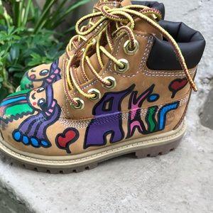 Timberland customized Boots
